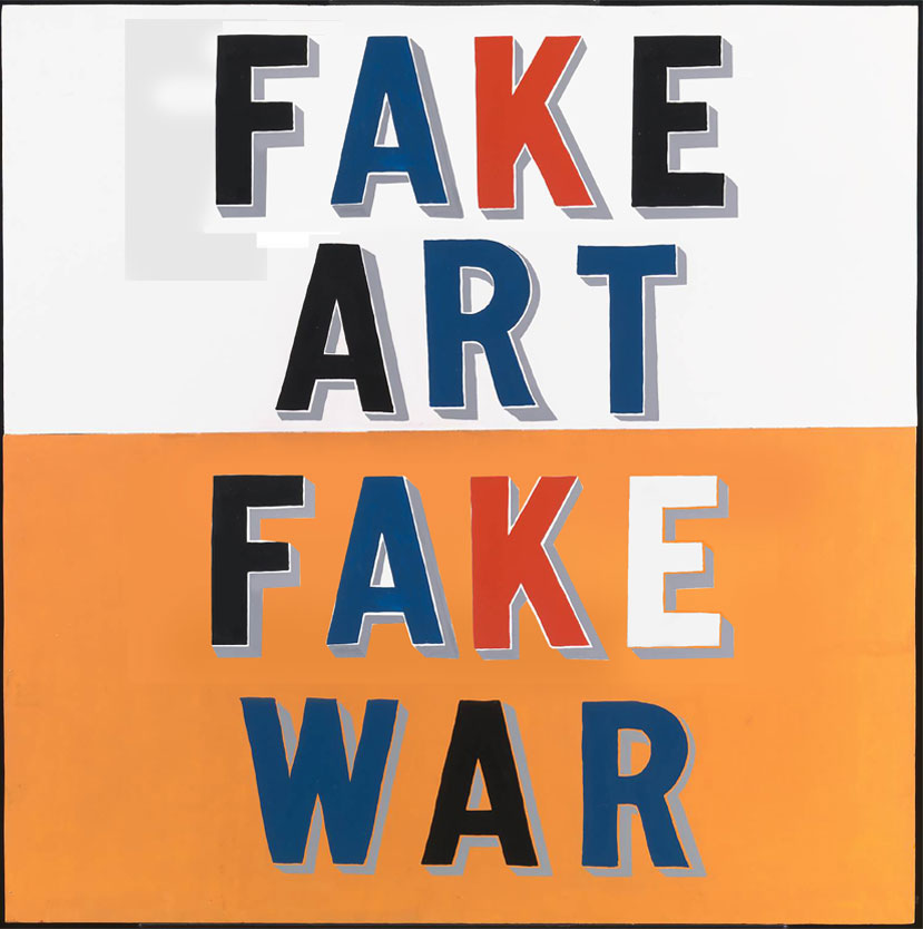 'Fake War (Featuring Bob & Roberta Smith)' – A.C. Hello
