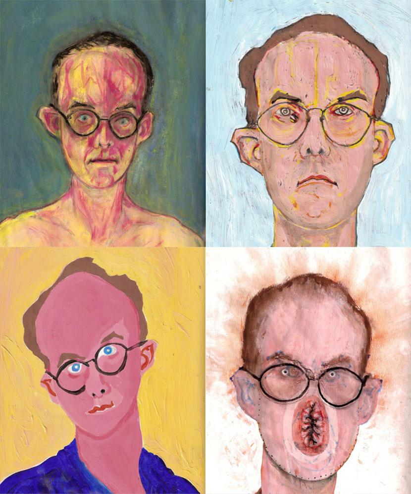 Self Portraits – Bryan Lewis Saunders