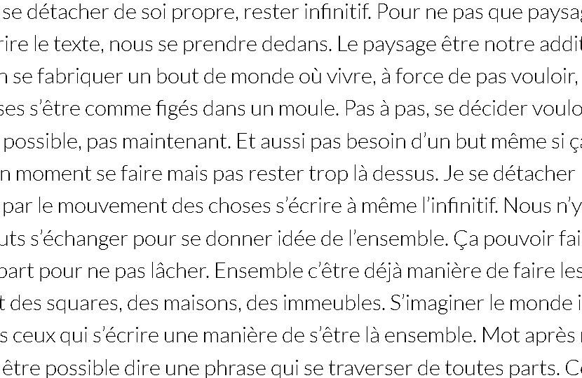 'S'infinitif' – Sébastien Lespinasse