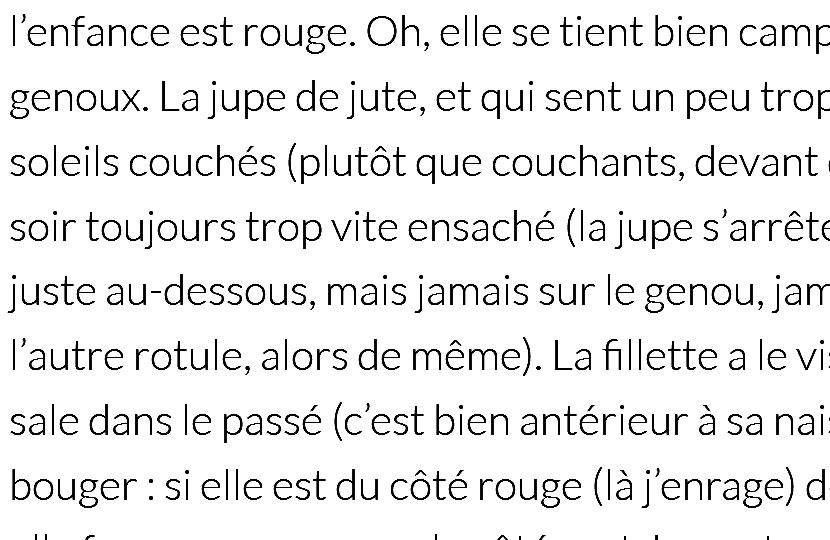 'Les trois âges' – Sandrine Bachelet