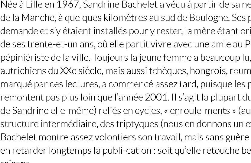 'Sandrine Bachelet' – Ivar Ch'Vavar