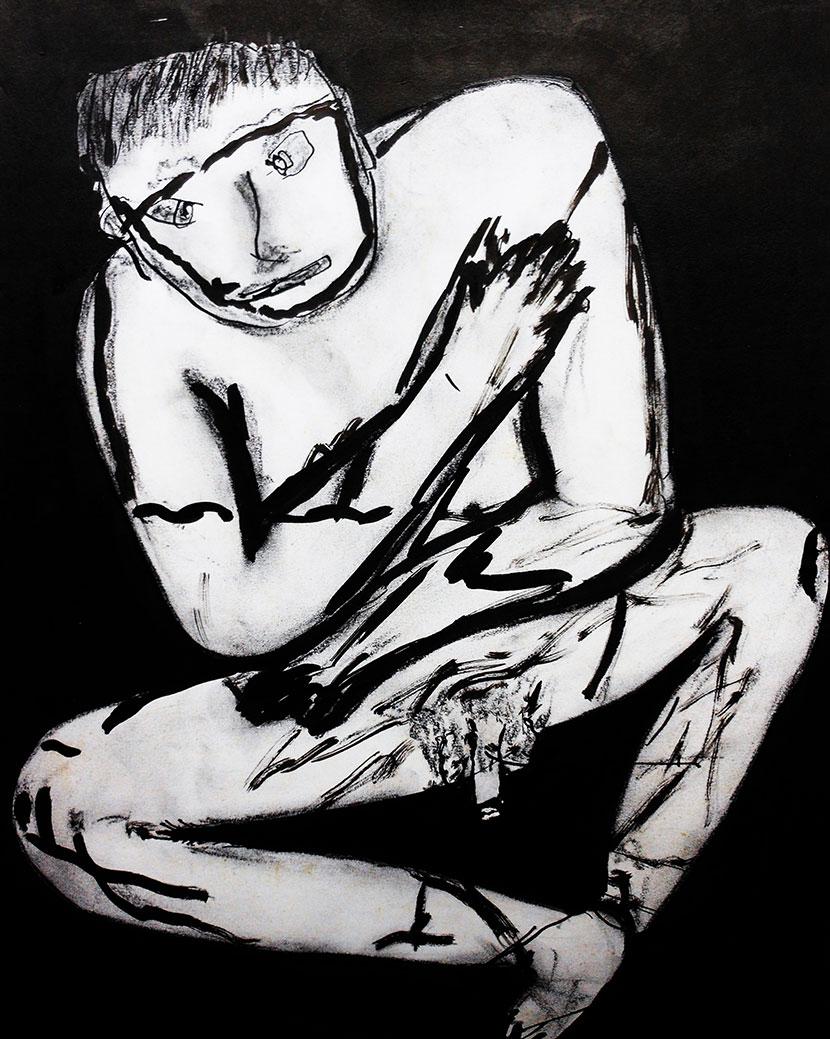 'Naked S(u)elfie' – Lucien Suel