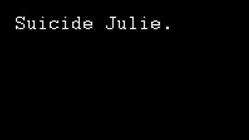'Suicide Julie' – À tel quel