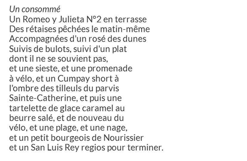«Quatre sonnets rétais» – Thomas Sidoli