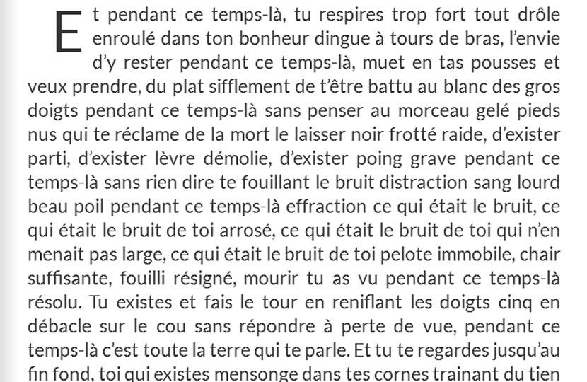 «Tiens» (extrait) – A.C. Hello